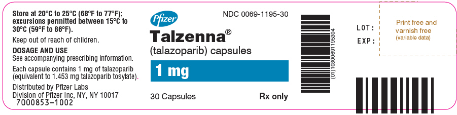 PRINCIPAL DISPLAY PANEL - 1 mg Capsule Bottle Label